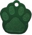 Zobrazit detail - Psí známka packa zelená