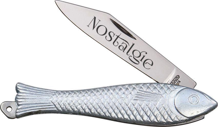 Nůž rybička Mikov s rytinou vašeho textu v ceně