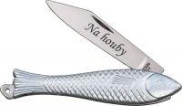 Nůž rybička Mikov s gravírováním