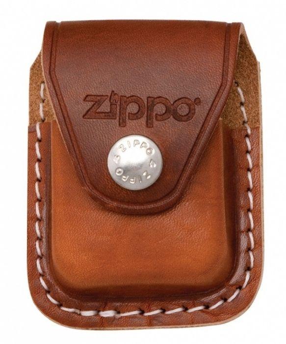 Zippo kožené pouzdro hnědé na zapalovač 17002