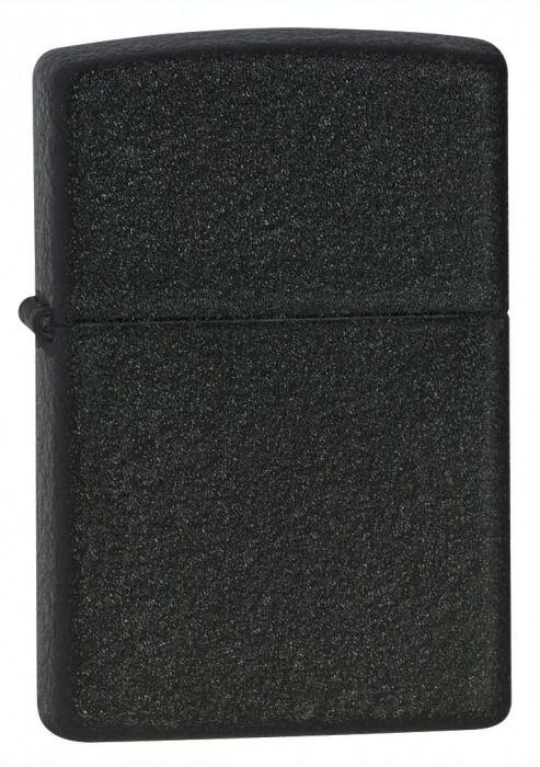 Originální ZIPPO zapalovač 26075 Black Crackle